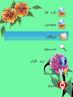 قالب بسیارزیبای گل